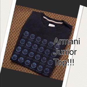 Boys Armani Junior Top!!